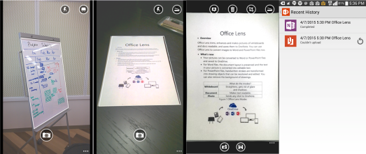 Lens for android working