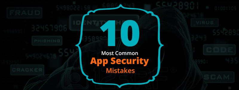 모바일 앱 개발 시 간과하기 쉬운 보안 이슈