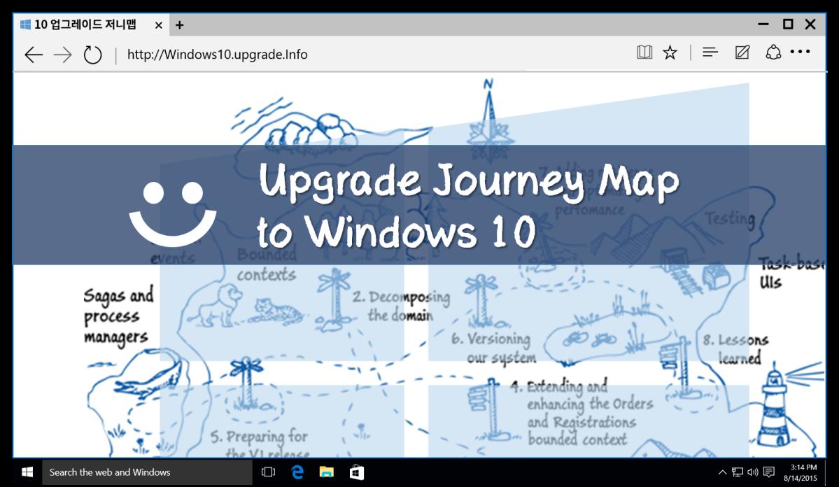 윈도우 10 업그레이드 저니맵 (인포그래픽) | Digital Strategist